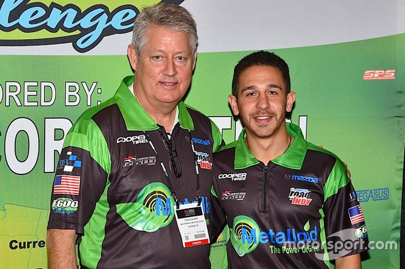 Michai Stephens, RJB Motorsports, USF2000 та Fred Edwards