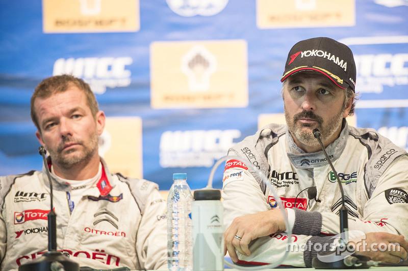 Press conference: Yvan Muller, Citroën C-Elysee WTCC, Citroën World Touring Car team and Sébastien L