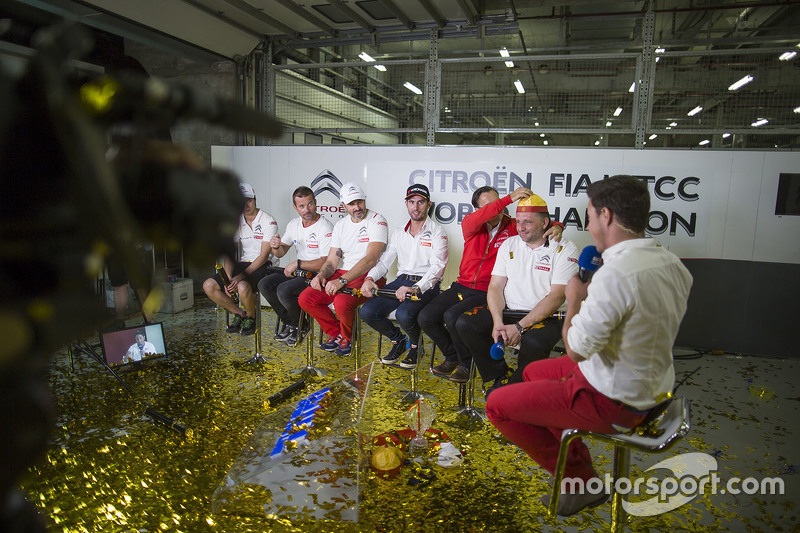 Ma Qing Hua, Citroën World Touring Car team, Sébastien Loeb, Citroën World Touring Car team, Yvan Mu