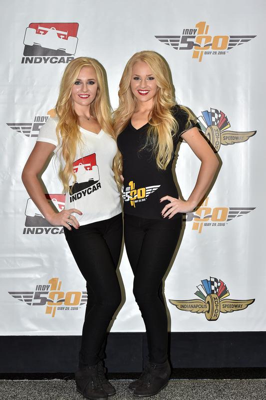Les Grid Girls de l'Indianapolis Motor Speedway