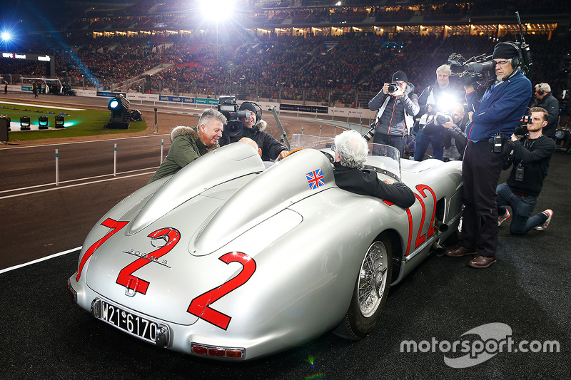 Hans Hermann and Sterling Moss
