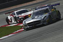 #35 Team AAI Mercedes SLS AMG GT3: Han Chen Chen, Nobuteru Taniguchi, Hiroki Yoshimoto, Tatsuya Tanigawa
