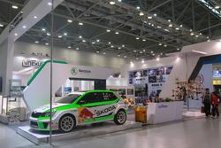 上海大众斯柯达红牛车队展台一览