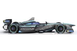 Jaguar in Formula E, la livrea
