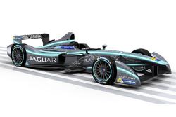 Окрас автомобиля Jaguar для Формулы E