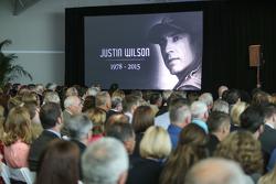 Gedenkfeier für Justin Wilson in Indianapolis