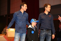 Julien Ingrassia e Sébastien Ogier con Quentin