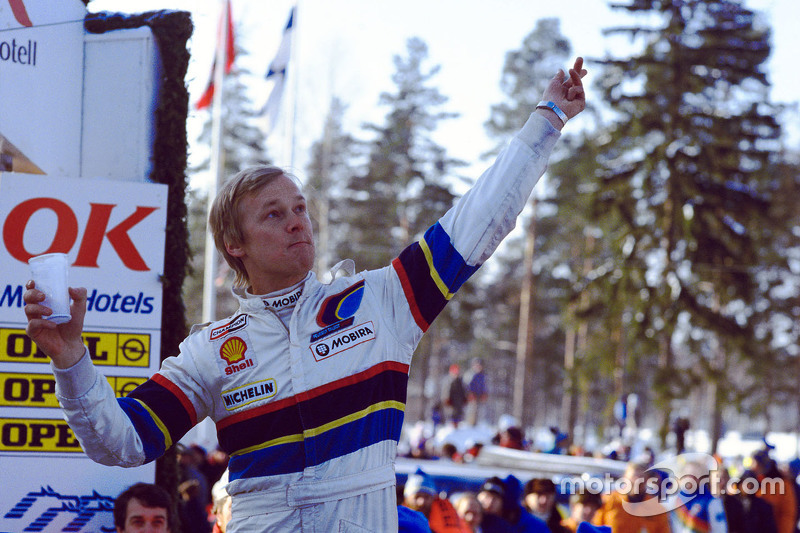 Le vainqueur Ari Vatanen