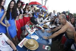 Tiago Monteiro, Honda Racing Team JAS dan Gabriele Tarquini, Honda Racing Team JAS