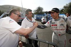 Juara balapan Ma Qing Hua, Citroën World Touring Car team, dan Yves Matton, Citroën World Touring Ca