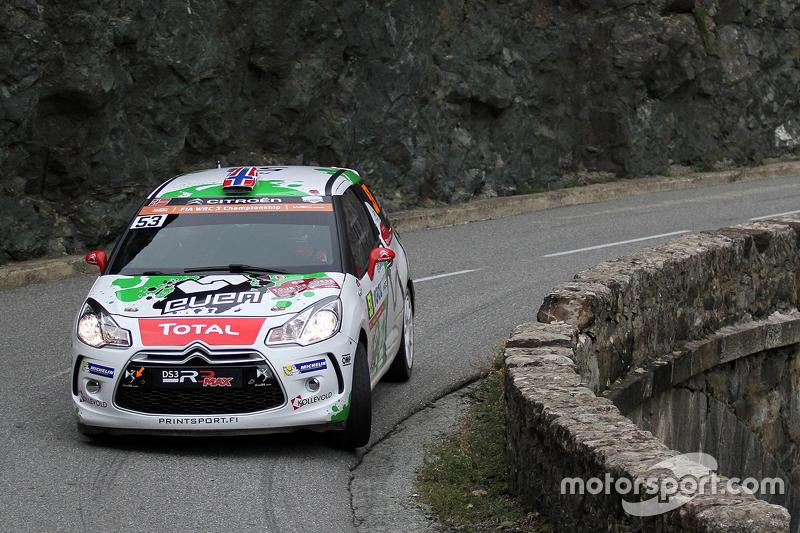 Оле Крістіан Вейбі та Андерс Ягер, Citroën DS3