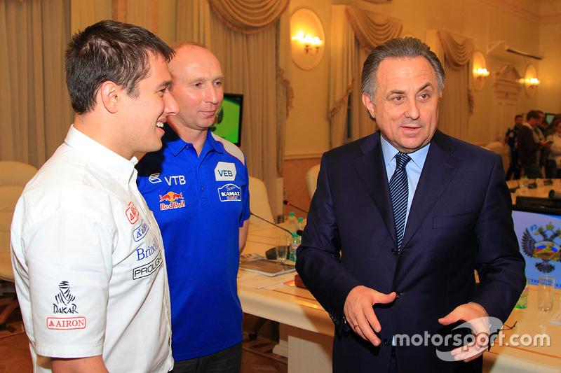 Встреча в Министерстве спорта России