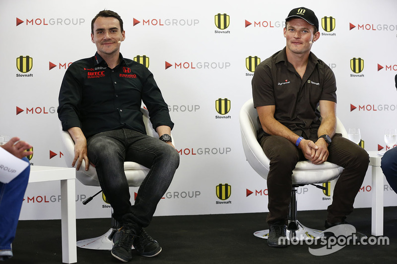 Norbert Michelisz, Honda Civic WTCC, Zengo Motorsport and Stefan Svitko