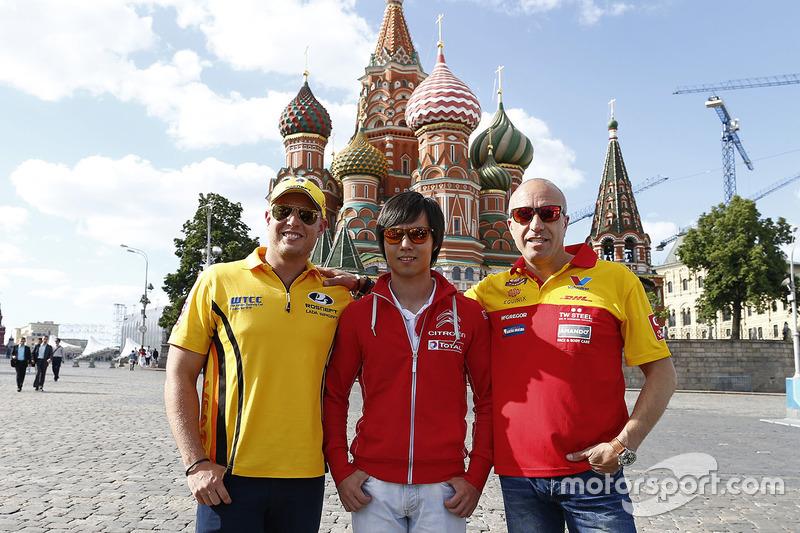 Rob Huff, Lada Vesta WTCC, Lada Sport Rosneft, Ma Qing Hua, Citroën C-Elysée WTCC, Citroën World Tou