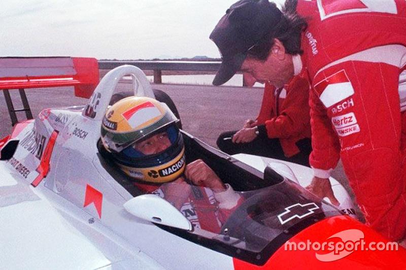 Ayrton Senna ve Emerson Fittipaldi