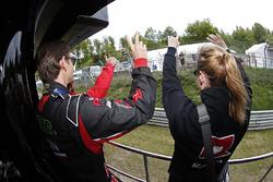 汤姆·奇尔顿,雪佛兰RML Cruze TC1,ROAL车队;萨宾·施密茨,雪佛兰RML Cruze, 慕尼黑车队