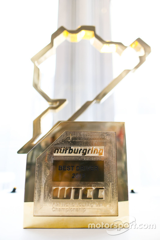 Nurburgring WTCC race trophy
