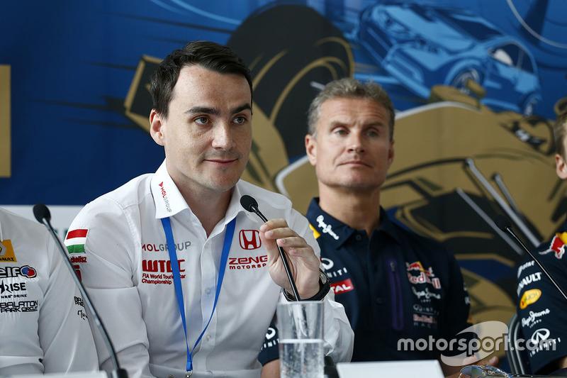 Norbert Michelisz, Honda Civic WTCC, Zengo Motorsport, David Coulthard