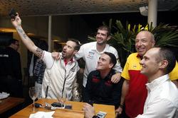 Tom Coronel, Chevrolet RML Cruze TC1, ROAL Motorsport, Norbert Michelisz, Honda Civic WTCC, Zengo Motorsport und Tiago Monteiro, Honda Civic WTCC, Honda Racing Team JAS
