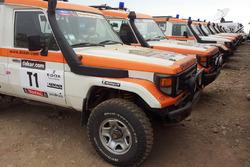 L'équipe médicale du Dakar