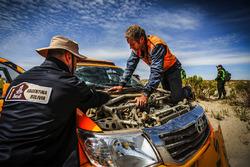 Problemsuche bei der Dakar