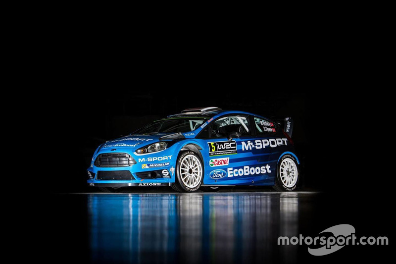 Präsentation M-Sport Ford Fiesta WRC