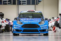 Ford Fiesta RS WRC, la livrea 2016 di M-Sport