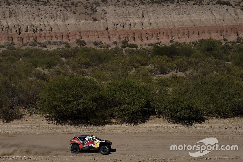 #302 Peugeot: Stèphane Peterhansel, Jean-Paul Cottret