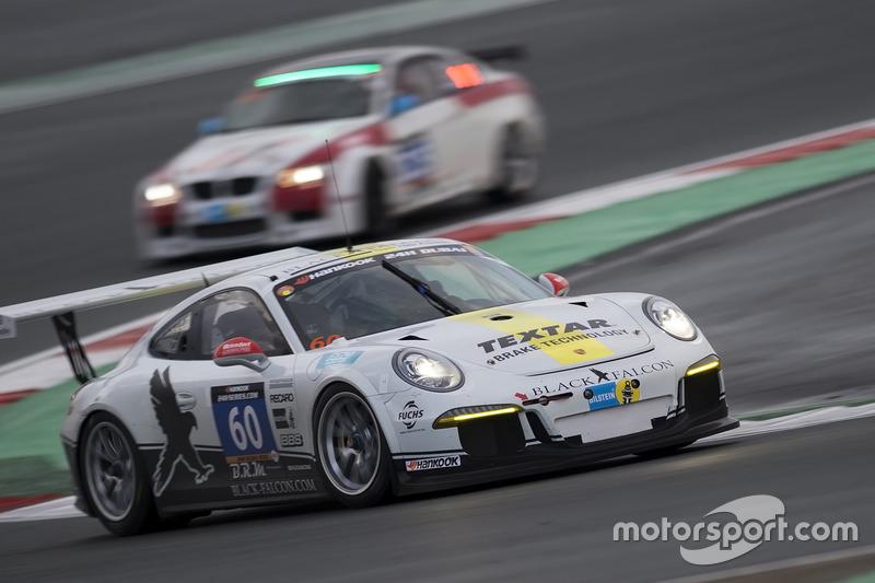 #60 Black Falcon Team TMD Friction Porsche 911 Cup: Burkard Kaiser, Sören Spreng, Stanislav Minsky, Mark Wallenwein, Klaus Bachler