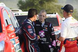 Nasser Al-Attiyah en Mikko Hirvonen, X-Raid Team