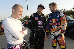 Mikko Hirvonen, Nani Roma, X-Raid Team and Toby Price