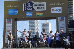 四轮摩托组冠军马科斯•帕特尼里