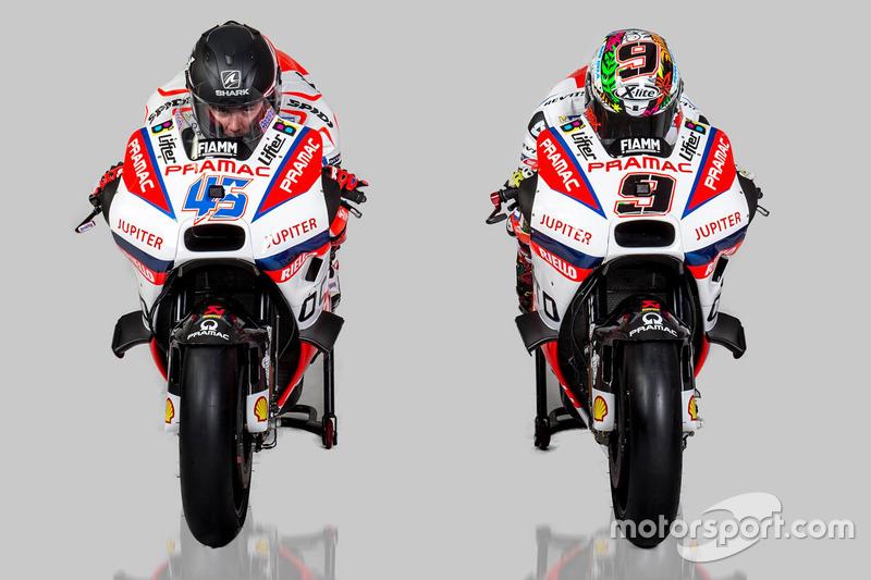 Scott Redding y Danilo Petrucci, Pramac Racing Ducati