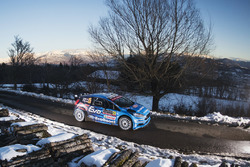 Elfyn Evans e Craig Parry, M-Sport Ford Fiesta R5