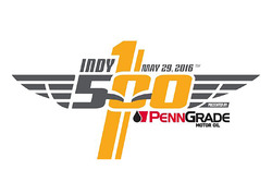 New logo for the Indy 500 and title sponsor PennGrade Oil