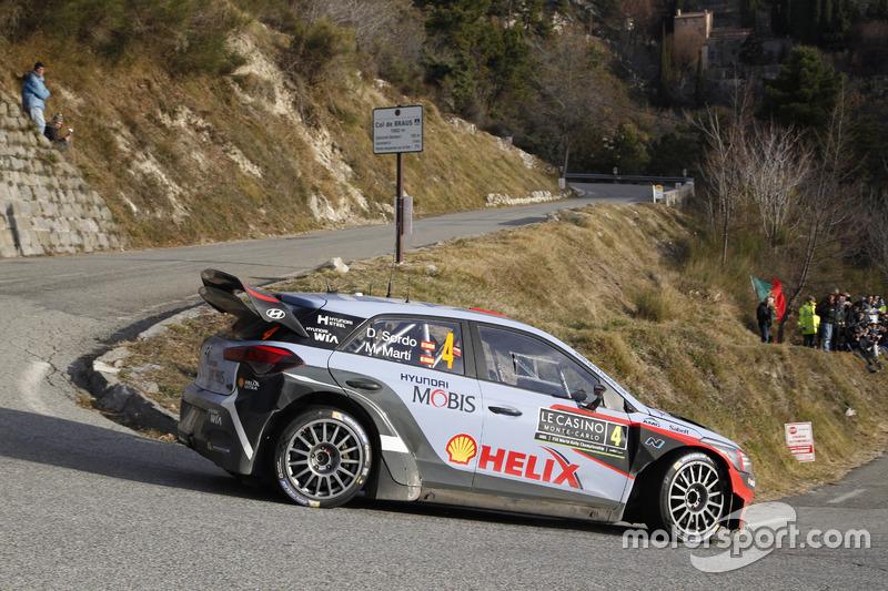 Daniel Sordo Marc Marti Hyundai I20 Wrc Hyundai Motorsport At