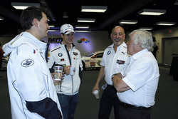Graham Rahal, John Edwards, Bobby Rahal