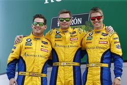 特纳车队97号宝马M6 GT3:迈克尔·马绍尔、马库斯·帕塔拉、杰西·克罗恩