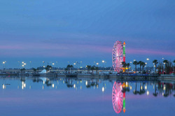 Atmosphäre Daytona International Speedway