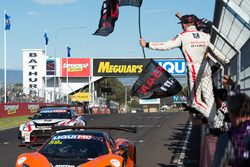 #59 Tekno Autosports McLaren 650S: Shane van Gisbergen, Alvaro Parente, Jonathon Webb takes the win and #1 Nissan Motorsports Nissan GT-R Nismo GT3: Rick Kelly, Katsumasa Chiyo, Florian Strauss finishes second