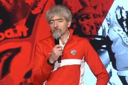 Luigi Dall'Igna - Presentazione Aruba.it - Ducati Superbike 2016