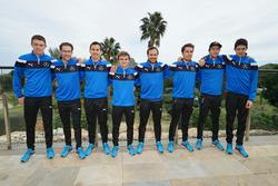 Paul di Resta, Maximlian Götz, Robert Wickens, Lucas Auer, Gary Paffett, Daniel Juncadella, Chistian Vetoris, Esteban Ocon, Mercedes-AMG DTM Team HWA AG
