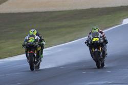 Pol Espargaro, Tech 3 Yamaha and Tito Rabat, Marc VDS Racing Honda