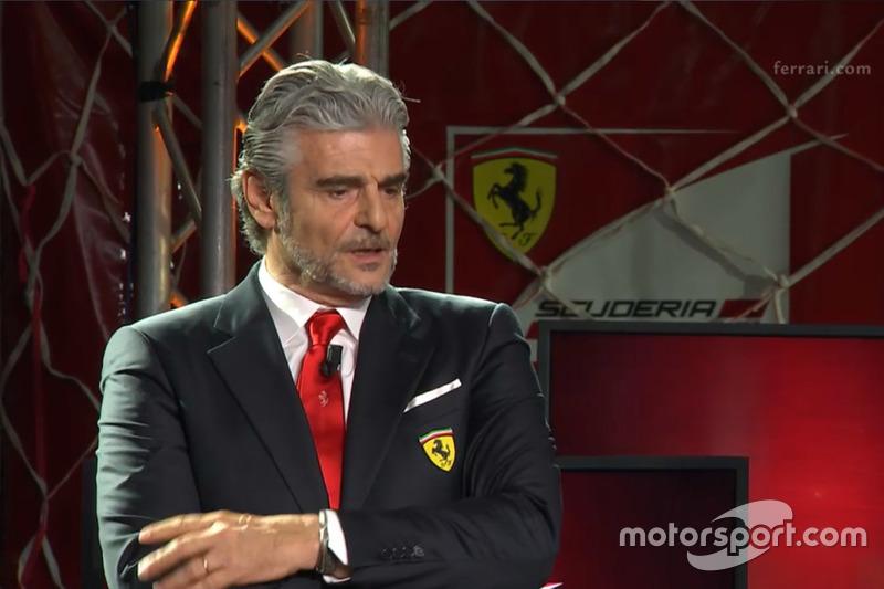 Maurizio Arrivabene, chefe de equipe da Ferrari