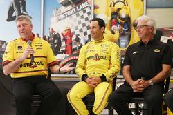 Элио Кастроневес, Team Penske Chevrolet и Рик Мирс