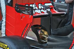 Haas VF-16, Heckflügel
