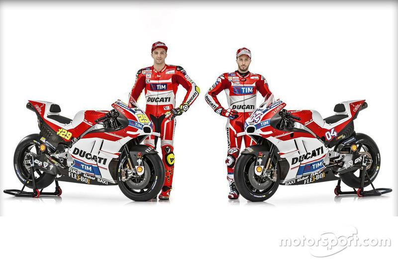 Andrea Dovizioso y Andrea Iannone, Ducati Team