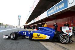 "فيليبي نصر، سيارة ساوبر ""سي34"""