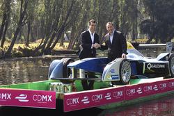 (Sx-Dx)Alberto Longo, Co-fondatore e direttore Generale Formula E e Horacio de la Vega, Direttore Generale del Indeporte de la Ciudad de México