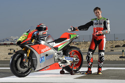 Alvaro Bautista with the Aprilia RS-GP 2016, Team Gresini